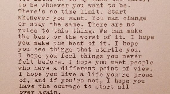F. Scott Fitzgerald, one of my favorite quotes