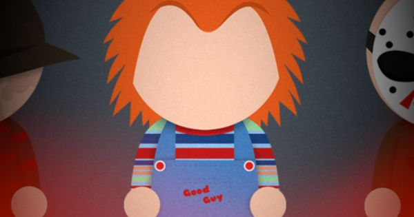 Chucky Lock screen or home screen for iPhone. iPhone