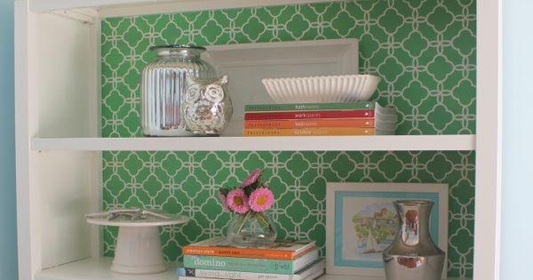 belle maison: Inspiration Snapshot: DIY Bookcase Makeover, hopper house