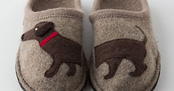 adorable wiener dog Haushund Wool Slippers- dachshund slippers pet
