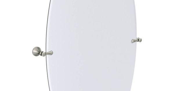 Moen Rockcliff 28 3 In W X 36 In H Brushed Nickel Hardware