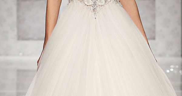 Neckline, Crystals, Tulle! Tony Ward Spring Couture