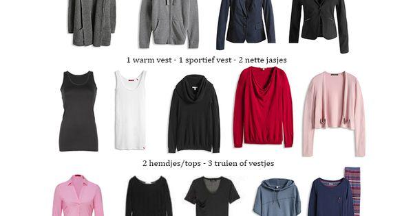 Maak een persoonlijke kledinglijst kijk voor een voorbeeld op minimale for Maak een kledingkast