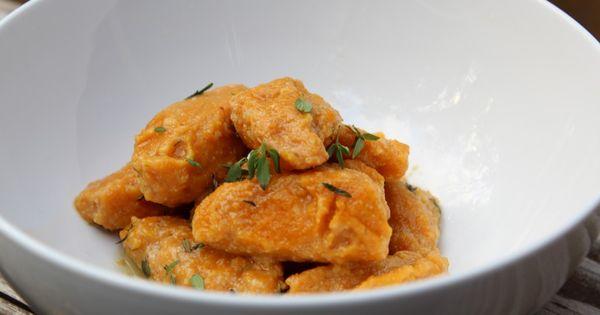 Butternut Squash Gnocchi | Real Food Recipes | Pinterest | Gnocchi ...