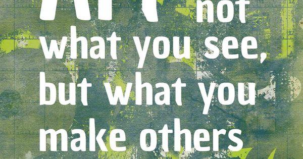 Famous Art Quotes | Art Quote, Famous Artist, Degas word print, 8x10,