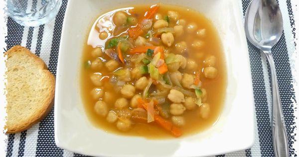 Adelgaza con susi recetas light garbanzos con verduras - Garbanzos olla express ...