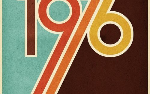 Design Flashback: The Colors of the 70s  앱, 놀라운 및 포스터