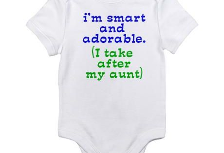 TAKE AFTER MY AUNT ONESIE