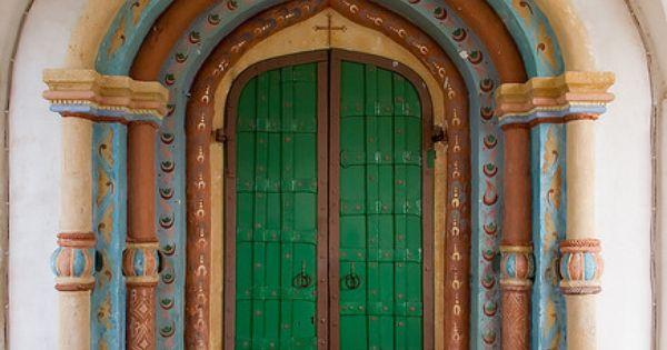 .green door way