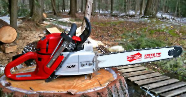 Solo chainsaw fresh and ready to go saws stuff