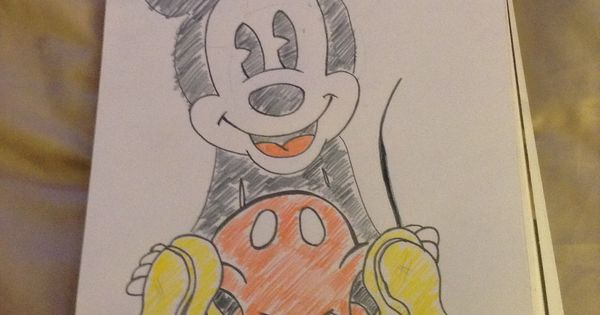 My First Mickey Mouse Drawing The Many Faces Of