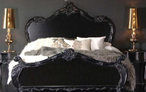 Black and Gold Interiors  침실, 욕조 및 홈 인테리어