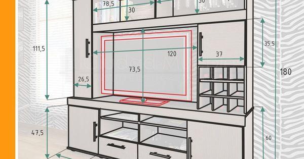 muebles para tv mdf PLANOS에 대한 이미지 검색결과  아지  Pinterest ...