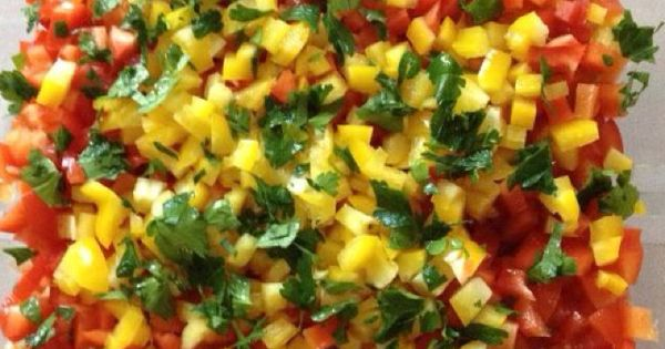Chunky salsa, Salsa and Salads on Pinterest