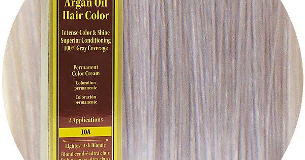 One N Only Argan Oil Hair Color 10a Lightest Ash Blonde