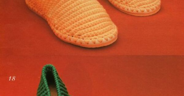 Beautiful crochet, Crochet slippers and In spanish on Pinterest