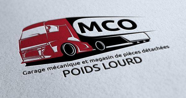Logo mco garage m canique et pi ces d tach es poids lourd for Garage mecanique lyon 8