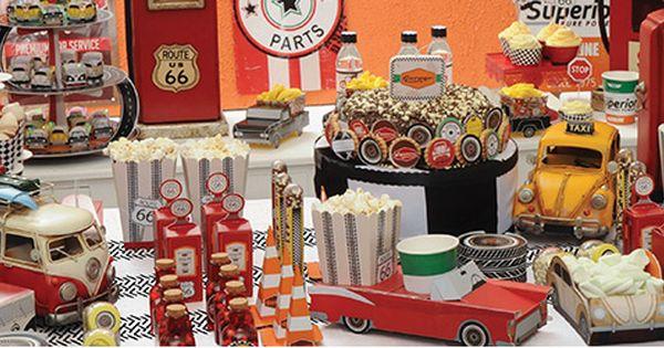 Festa garage route 66 artigo decora o festa garage for Garage ad angers route de bouchemaine