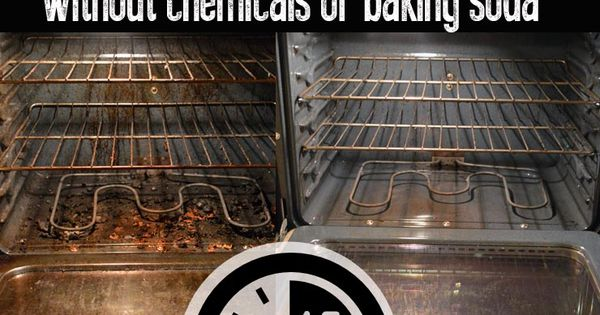 Clean your oven easily and quickly without chemicals with this natural cleaning