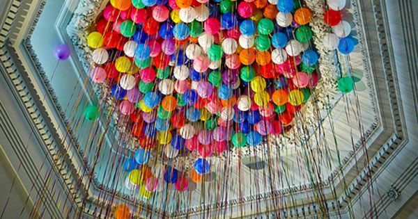 I want to do this for Christianna's 10th birthday party...I love balloons