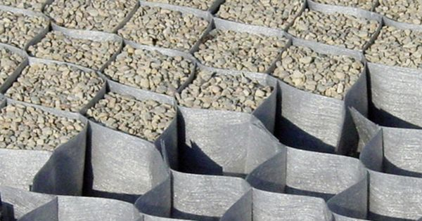 Geogrid soil reinforcement dupont groundgrid ground for Dupont ground grid stabilisateur de graviers