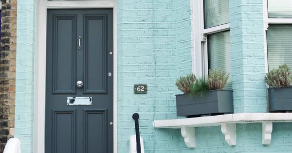 Wall parma gray all white exterior - Farrow and ball exterior masonry paint ideas ...