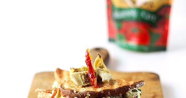 Cheesy Spinach Artichoke & Sundried Tomato Panini | Recipe | Paninis ...