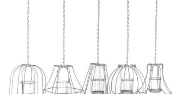 Bol.com €53,95 Set van 5 waxinehouders lampenkap  woonkamer ...