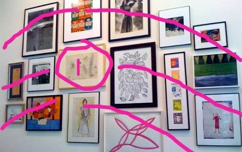 How To Hang Art In Groups Like Kate Spade Gallery