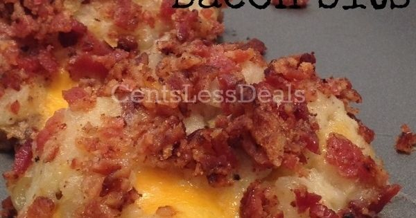 Loaded Mashed Potato Balls with Bacon Bits recipe bacon potato recipe CarolValeCooking