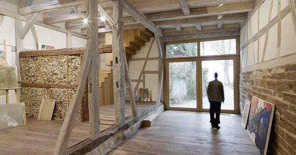 fachwerkhaus modern hledat googlem scheune pinterest. Black Bedroom Furniture Sets. Home Design Ideas