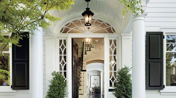 Updating a dated colonial exterior colonial exterior colonial and porch for Updated colonial home exterior