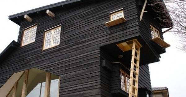 My Favorite Type Of Home Siding Shou Sugi Ban An Ancient