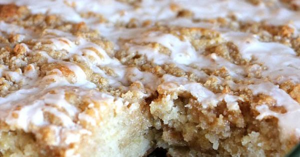 Banana Crumb Cake - try subbing buttermilk for the whole milk and