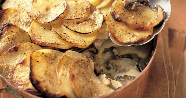... Gratin | Recipe | Wild Mushrooms, Yukon Gold Potatoes and Gratin