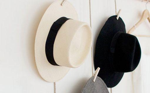 Perchero de cobre para sombreros ideas para edu - Perchero para sombreros ...