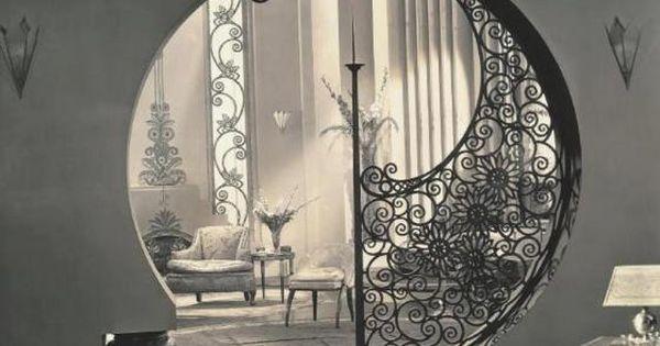 1930s interior design porte curve e design for 1930s interior designs