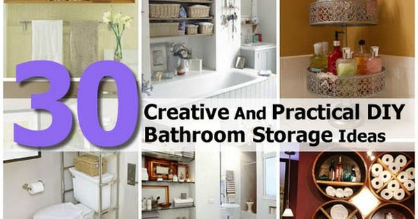 Creative Bathroom Storage Ideas Custom Inspiration Design