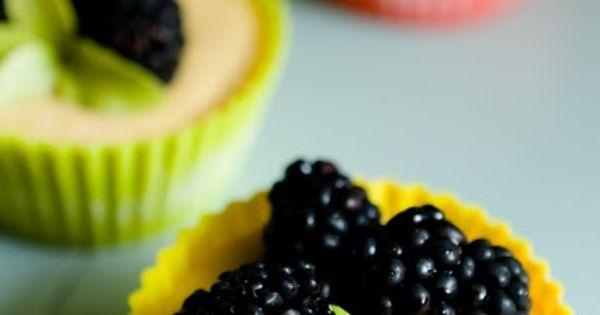 Lemon Ice Box Pie Cupcakes With Lavender Benne Seed Shortbread Crust ...