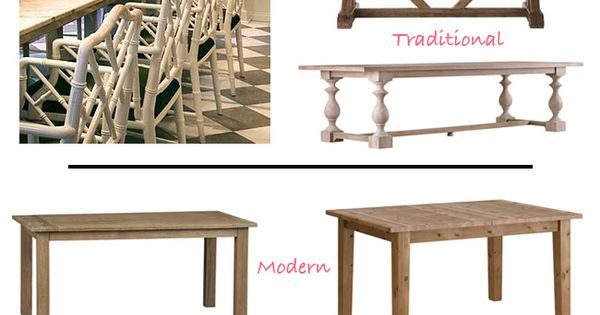 Affordable Farm Tables Via DiCorcia Design Interior