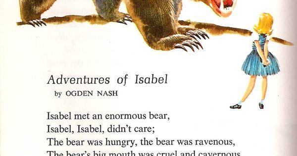 The Adventures Of Isabelle Written By Ogden Nash Excerpt