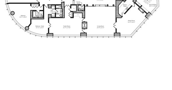 Chicago Condo Floor Plans: Trump International Tower And Hotel Chicago Penthouse