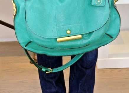 A most awesome color. Coachbag