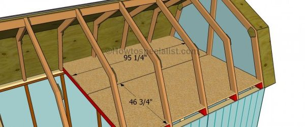 How To Build A Gambrel Roof Shed Building Miscellaneous