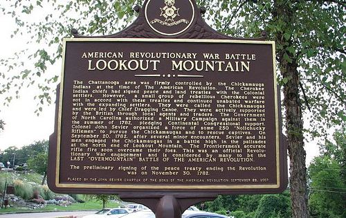 Classroom Timeline Ideas ~ Lookout mountain chattanooga american revolutionary war