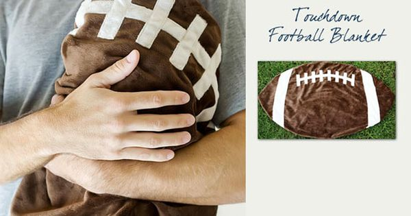 Football baby blanket .My favorite!!.......