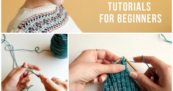 Knitting For Beginners Step By Step : Knitting for beginners learn how to knit with this