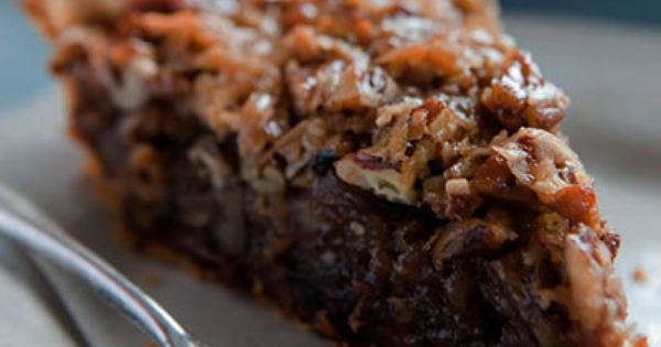 German Chocolate Pecan Pie delicious recipe cake desserts dessertrecipes yummy delicious food