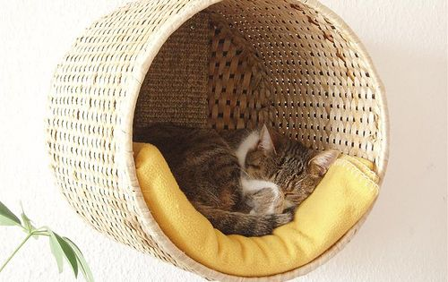 DIY pet bed, Ikea hack by Sílfide - Makes me want a