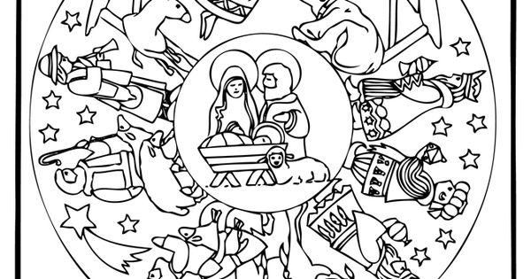 ausmalbilder weihnachten mandala ausmalbilder f r kinder. Black Bedroom Furniture Sets. Home Design Ideas